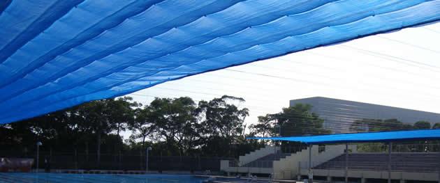 Fireproof Sun Shade Net Used In Outdoor Gardens
